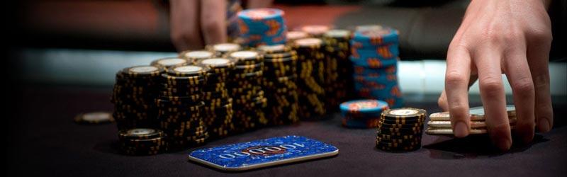 Poker Chips Betting
